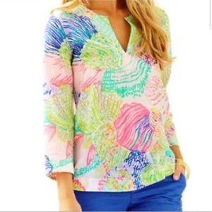 Lilly Pulitzer Like New! Cotton Tunic Size Small